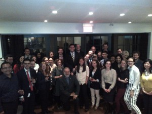 Group shot - April 23, 2013 at Samara - members of classes from 2009-2014!